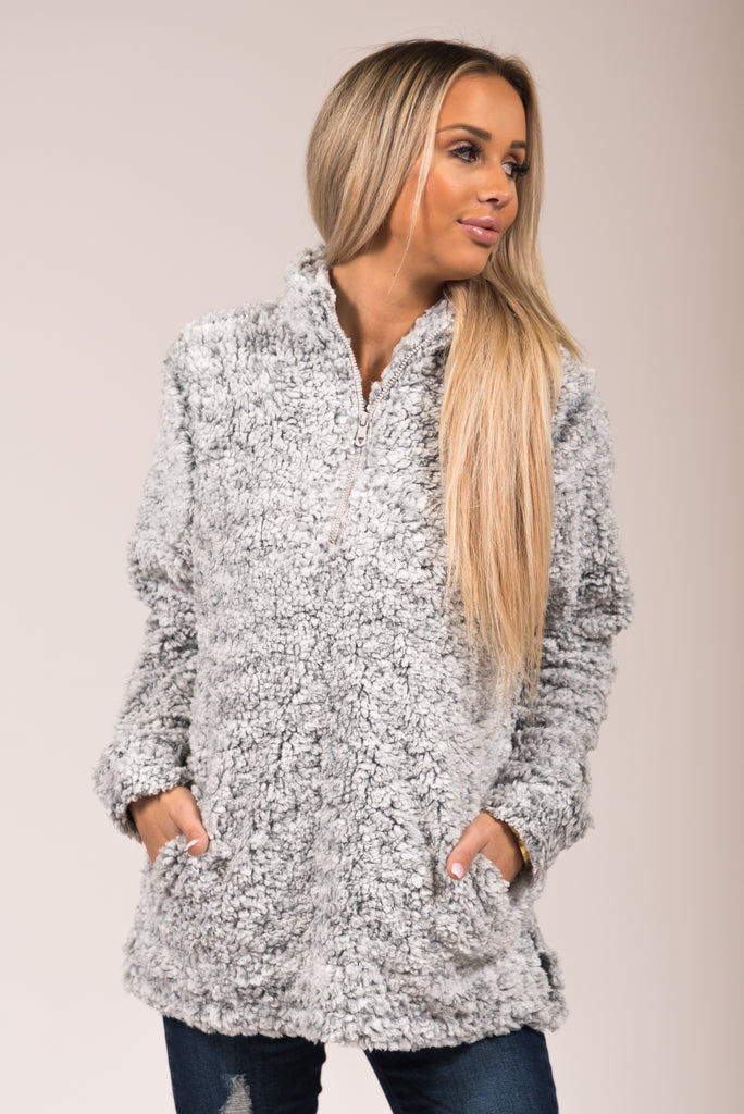 Snow Fun Sherpa in Grey