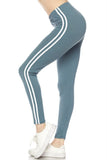 On the Move Leggings in Sea Blue