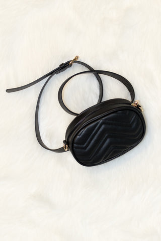 Fancy Fanny Pack in Black