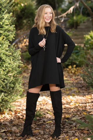 Piko Perfect Dress in Black
