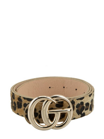 Don't Quit Belt in Leopard
