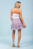 Flirtatious Skirt in Misty Lilac