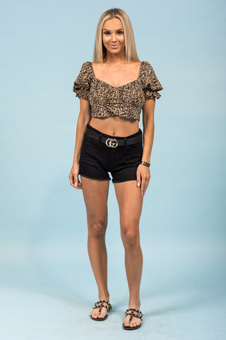 Loving and Living Shorts in Black