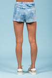 Don't Be Blue Tie-Dye Shorts