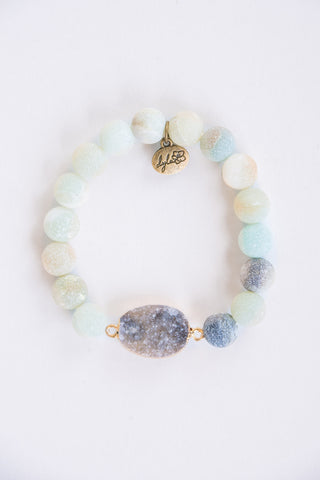 Mallory Bracelet in Amazonite