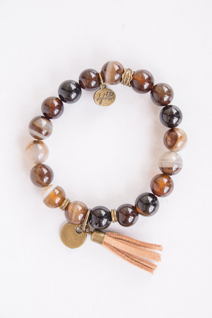 Cece Bracelet in Black/Brown