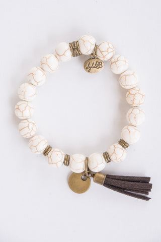 Cece Bracelet in Cream