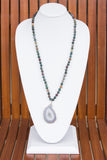 Katherine Necklace in Jade Multi