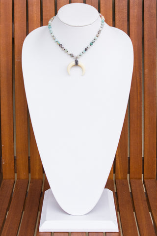 Millie Necklace in Amazonite