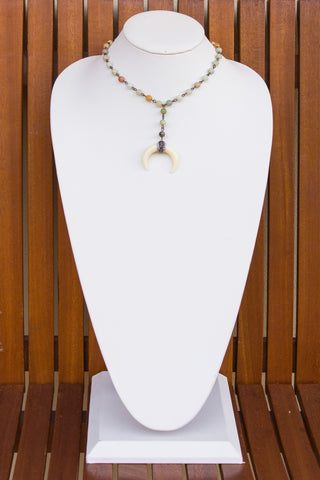 Savannah Necklace in Amazonite