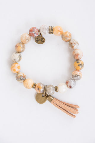 Cece Bracelet in Mustard Mix