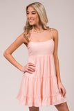 Promised The World Dress in Blush