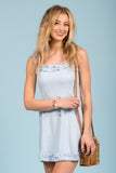 Cotton Candy Cloud Dress in Chambray