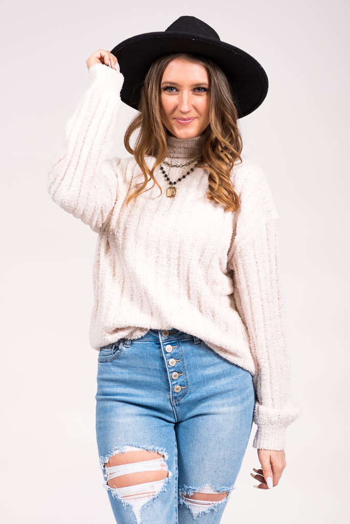 Soho Sweater in Natural