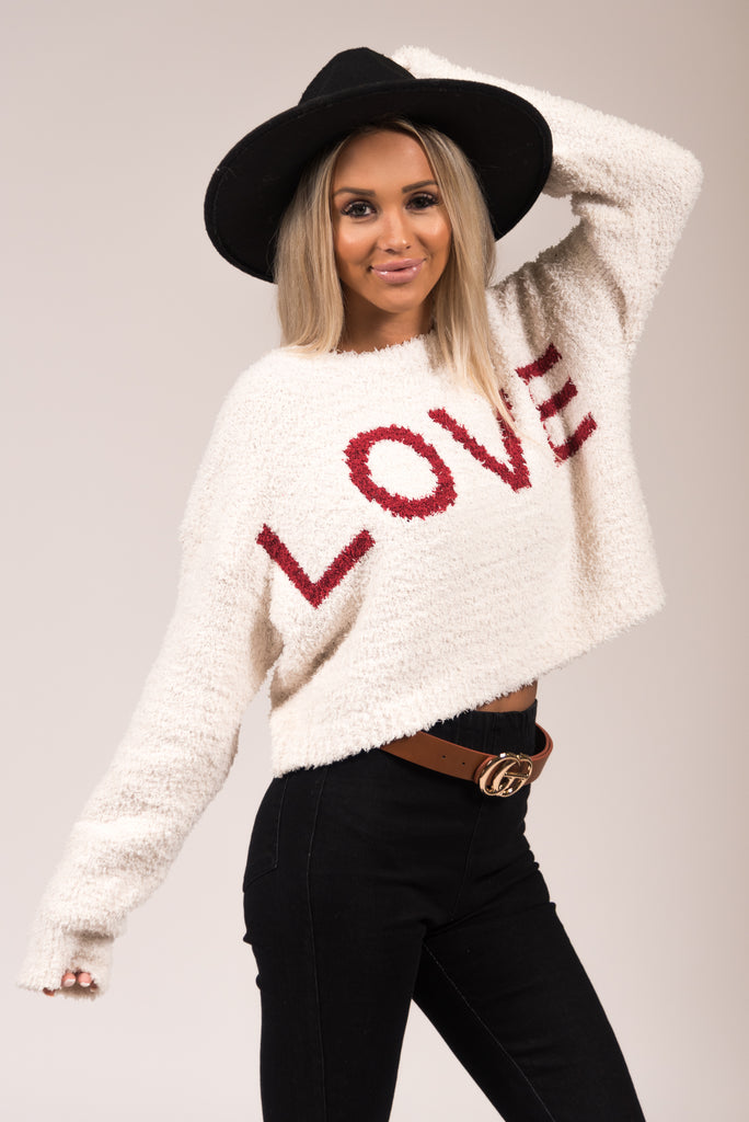 Love is Everything Sweater