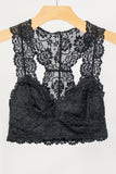 Lace Elegance Bralette in Black