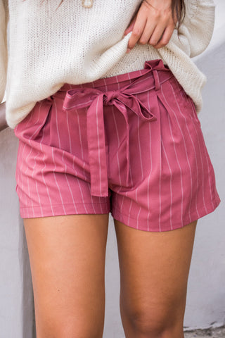City Dove Shorts in Mauve