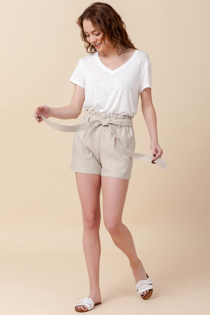 Hudson River Line Shorts in Moth Gray