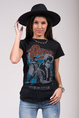 Bowie On Tour Tee