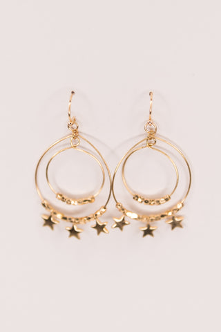 Noah Earrings in Gold
