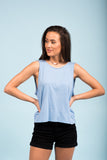 High Hopes Top in Sky Blue