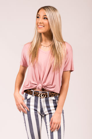 Not Your Mother's T-Shirt in Desert Rose