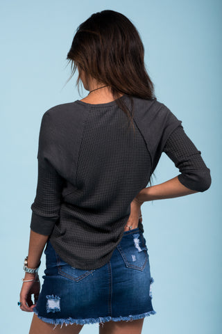 Looking for Lovely Top in Charcoal