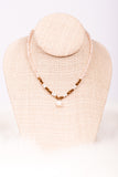 Audrey Necklace in Blush