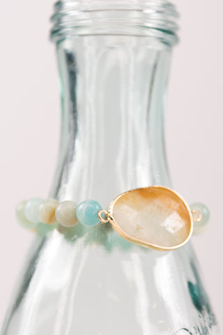 Betty Bracelet in Amazonite