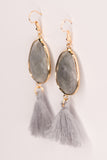 Betty Earrings in Gray