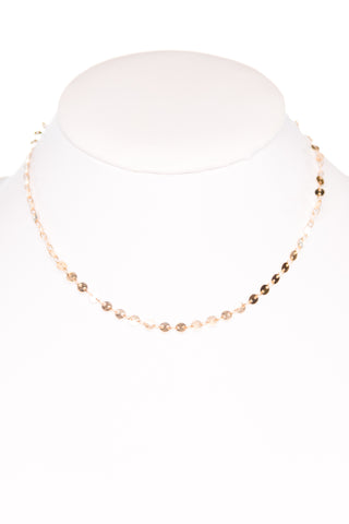 Gilda Necklace in Gold