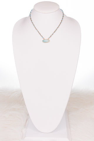 Hazel Necklace in Turquoise