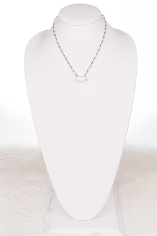 Hazel Necklace in Cream