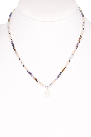 Janie Necklace in Disco/Silver