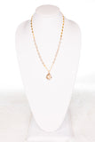 Kourtney Necklace in Gold/Cream