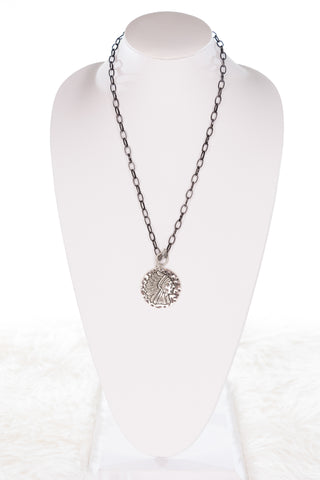 Mila Necklace in LG Coin