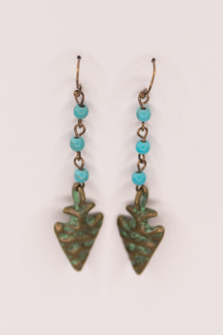Mindy Earrings in Turquoise