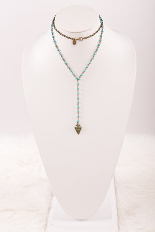 Mindy Necklace in Turquoise