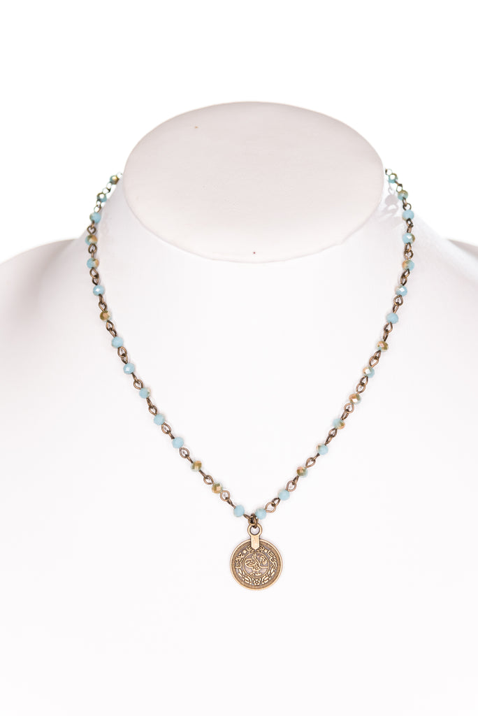 Roxie Necklace in Turquoise