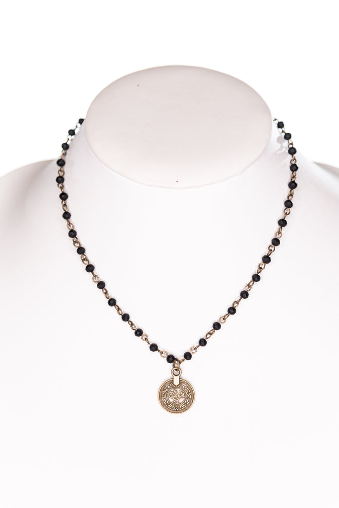 Roxie Necklace in Black