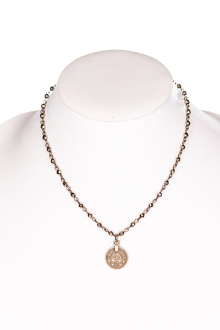 Roxie Necklace in Bronze