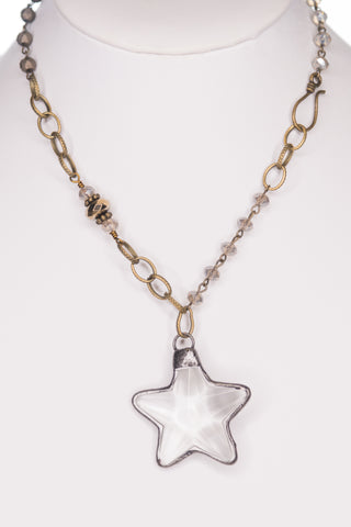 Shooting Star Necklace (Choker Length)