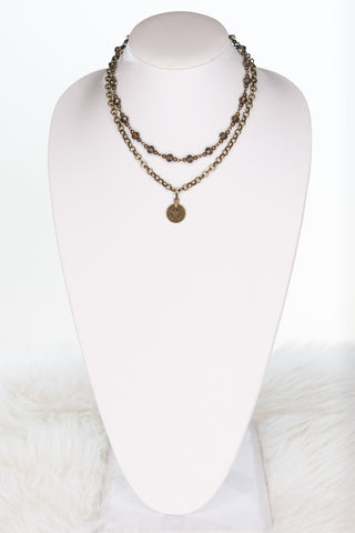 Sutton Necklace in Coin