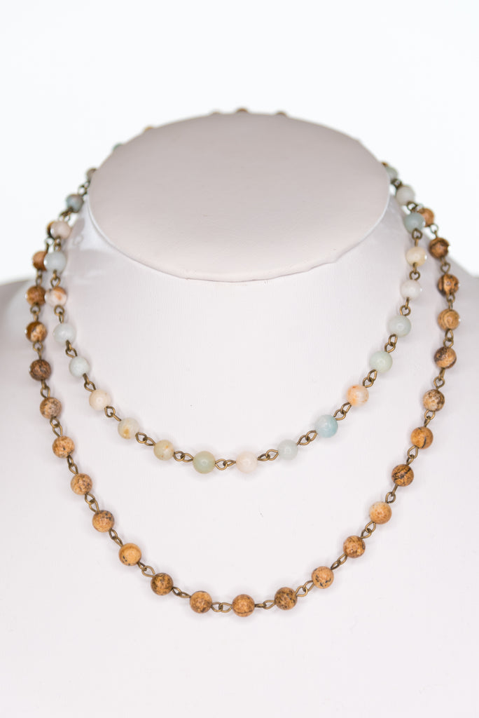 Syndey Necklace in Double Strand