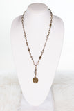 Tracie Necklace in Doubloon