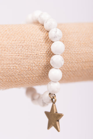 Macey Bracelet in White