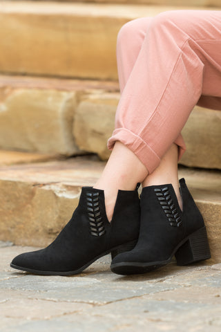 Finally Fall Booties in Black