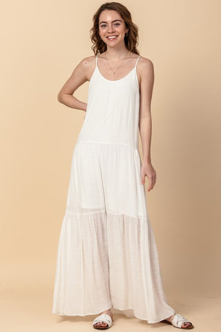 Daybreak Maxi Dress in Off White