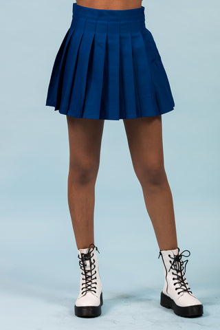 Someone New Skort in Royal Blue