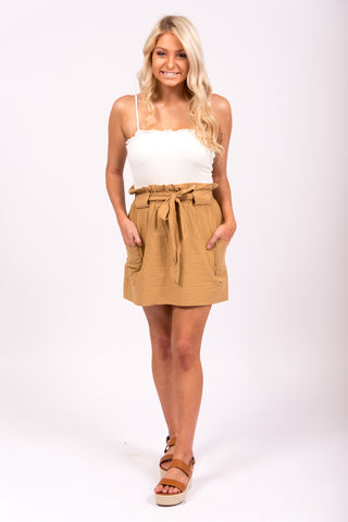 Ready to Grow Skirt in Mustard